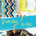 no-sew cat bed