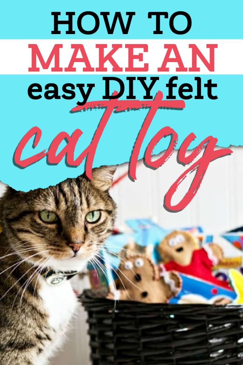 DIY felt catnip toy